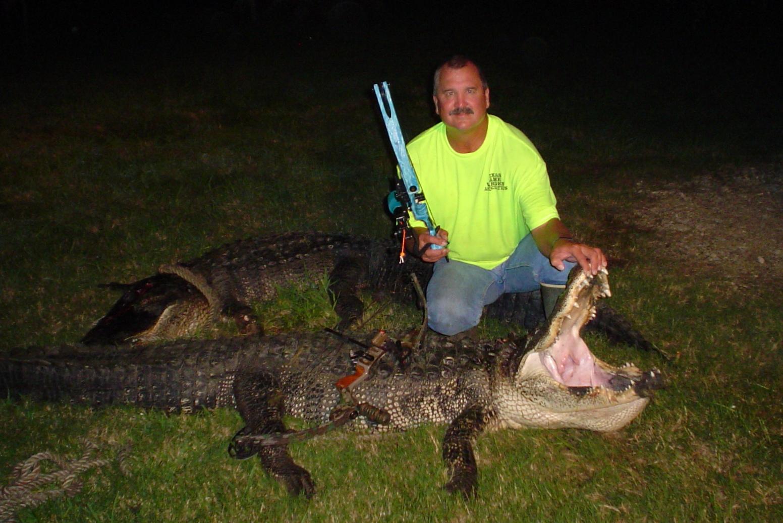Bob Kana Gator 370 lbs.Cropped